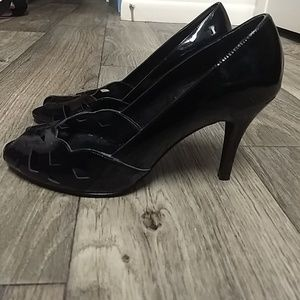 Papell Studio patent leather heels
